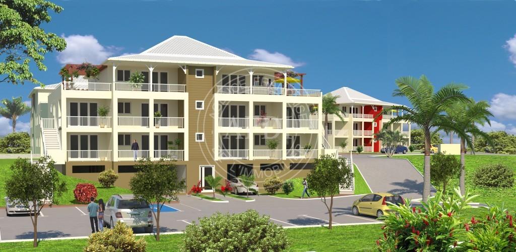 Programme neuf LE CLOS DE BÉLÈME II en défiscalisation à Lamentin (Martinique)