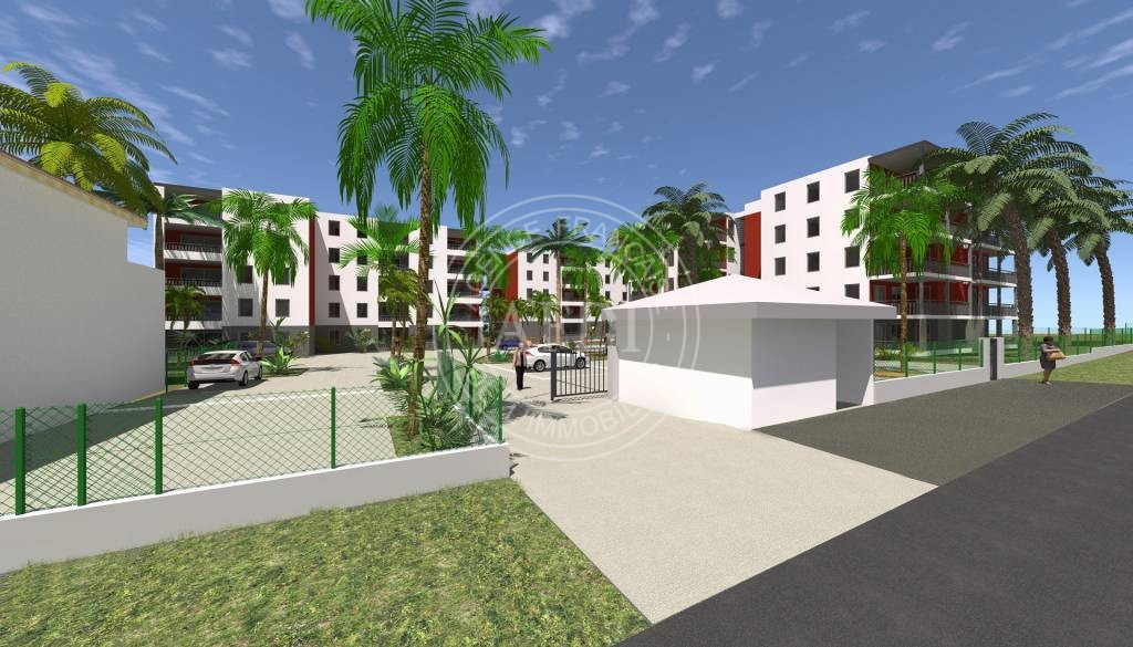 Programme neuf LES TROIS ARTS en défiscalisation à Abymes (Guadeloupe)
