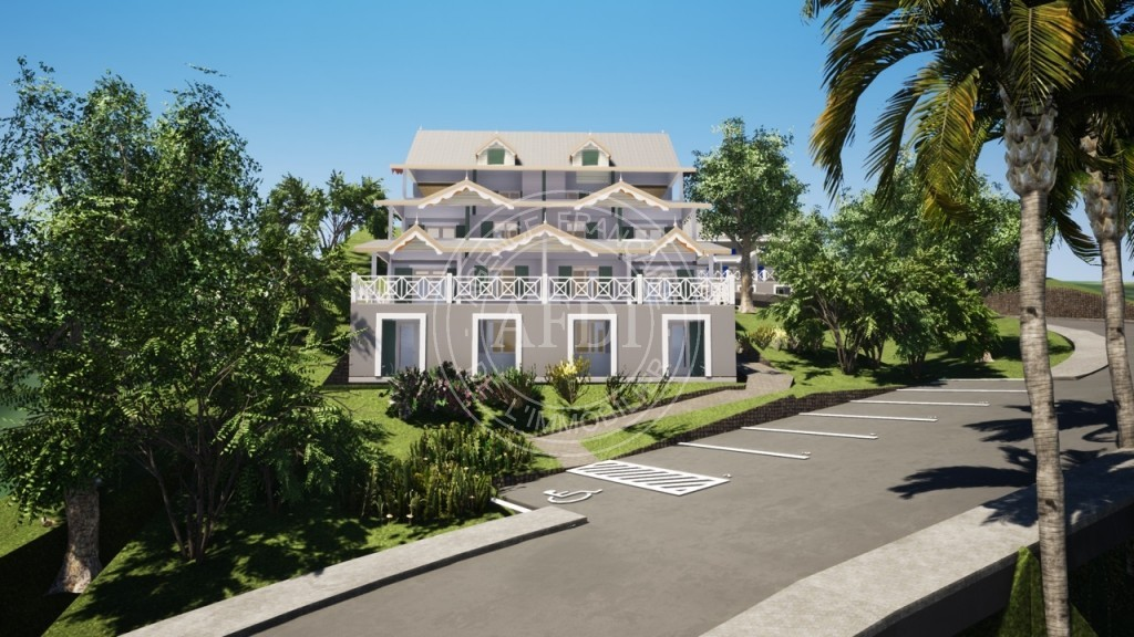 Résidence LA BELLE SAINTANAISE (APPARTEMENTS) en défiscalisation Loi : Pinel outre-mer à Guadeloupe / Sainte-Anne
