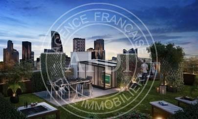 Logements neufs à Courbevoie - Résidence L'ATELIER (région parisienne)
