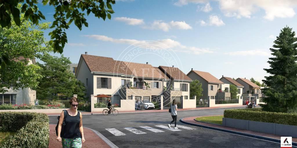 Résidence LES JARDINS D'ELISABETH en défiscalisation Loi : Pinel à Yvelines / Aubergenville