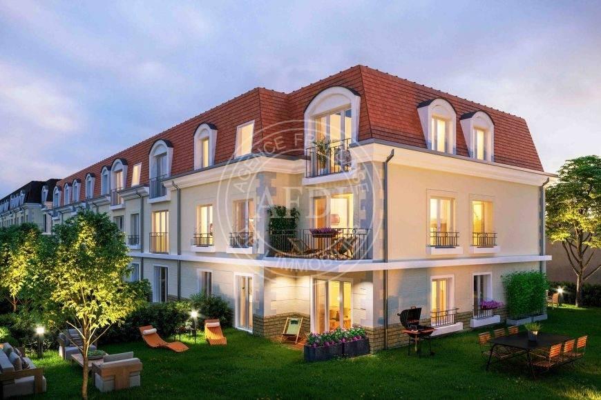 Résidence VILLA MANSART en défiscalisation Loi : Pinel à Seine-et-Marne / Saint-Fargeau-Ponthierry