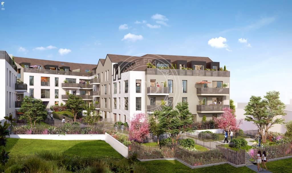 Résidence COEUR VILLAGE en défiscalisation Loi : Pinel à Yvelines / Saint-Arnoult-en-Yvelines