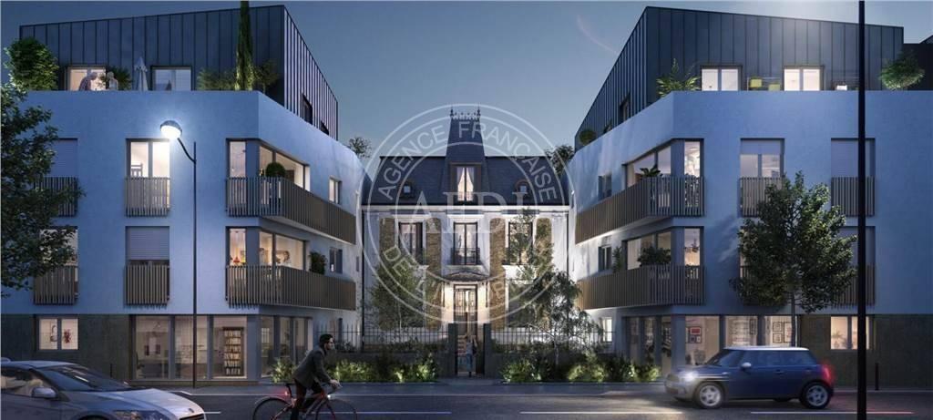 Résidence ELEGANCE en défiscalisation Loi : Sans défiscalisation à Seine-Saint-Denis / Pavillons-sous-Bois
