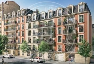Résidence EMPREINTE en défiscalisation Loi : Sans défiscalisation à Hauts-de-Seine / La Garenne-Colombes