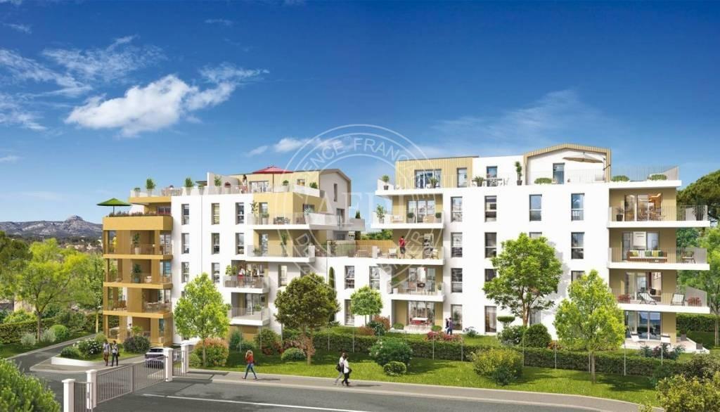 Résidence REGARDS en défiscalisation Loi : Pinel à Bouches-du-Rhône / Aubagne