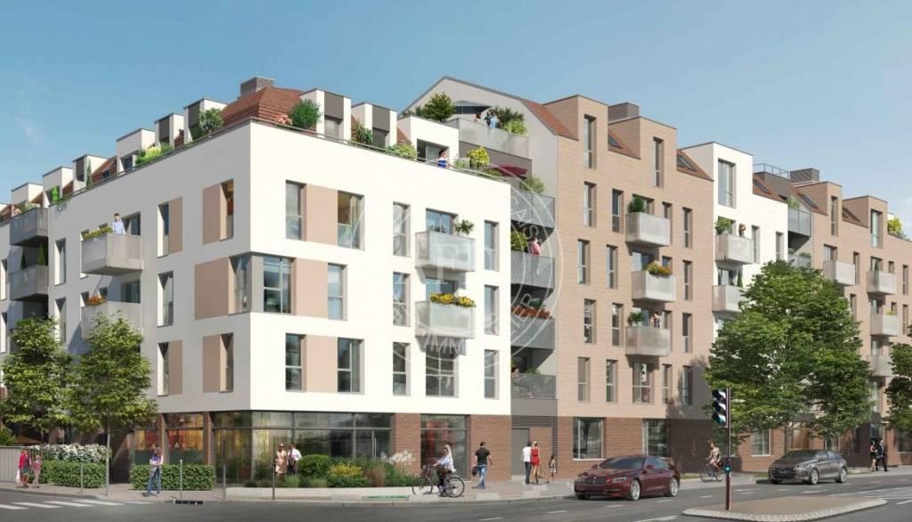 Logements neufs à Créteil - Résidence RIVERSIDE (région parisienne)