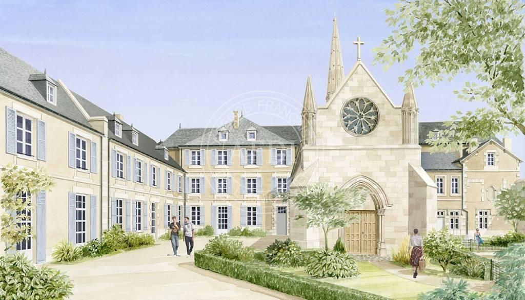 Logements neufs à Poitiers - Résidence COUVENT DE LA MISERICORDE (région parisienne)