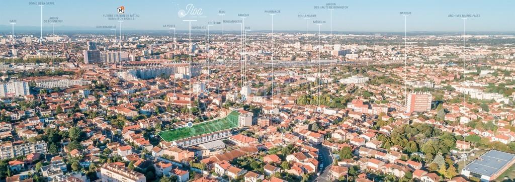 Logements neufs à Toulouse - Résidence ILOA (région parisienne)