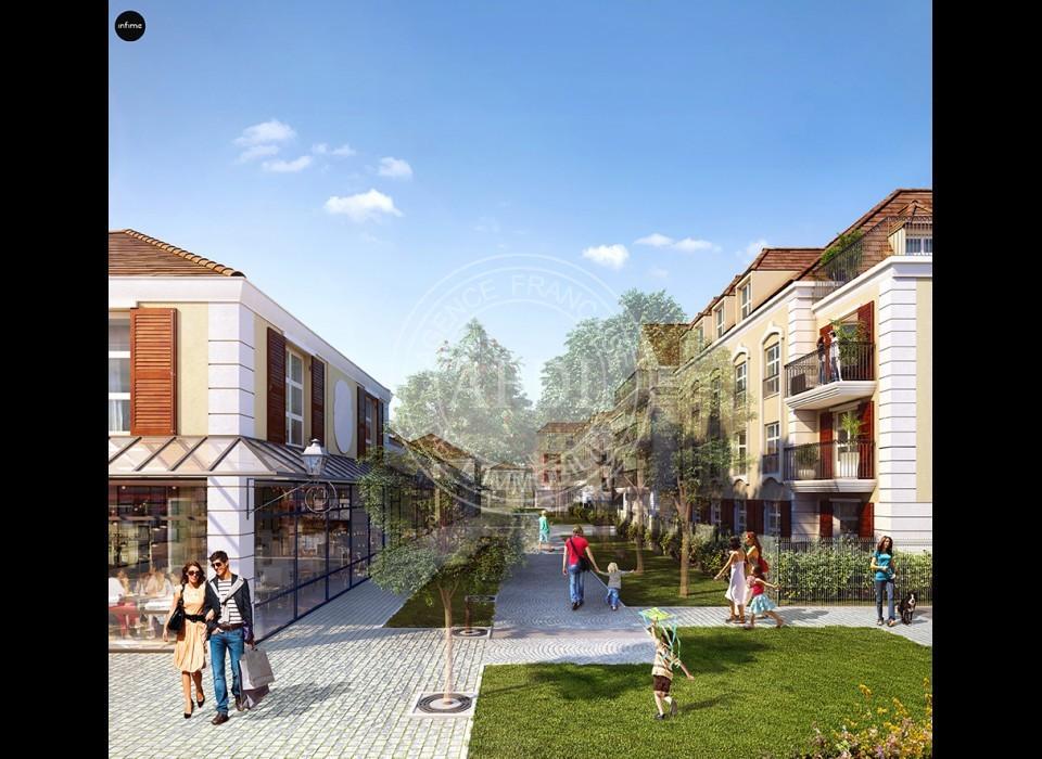 Logements neufs à Montévrain - Résidence LES ALLEES DE MONTEVRAIN (région parisienne)