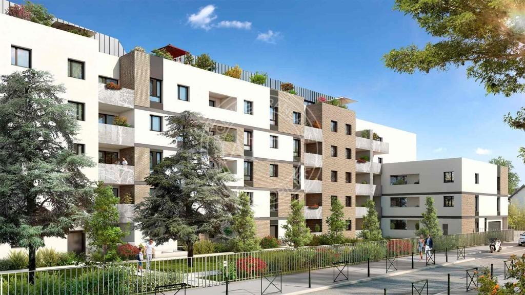 Résidence PAVILLON 32 en défiscalisation Loi : Pinel à Haute-Garonne / Toulouse