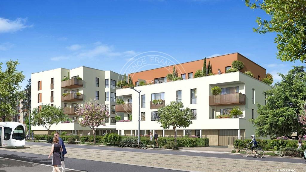 Logements neufs à Saint-Priest - Résidence PAVILLON JAURÈS (région parisienne)